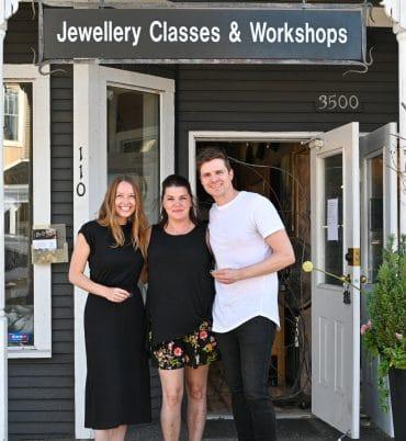 Wedding Ring workshop at Juvelisto School of Metal Arts, Vancouver BC