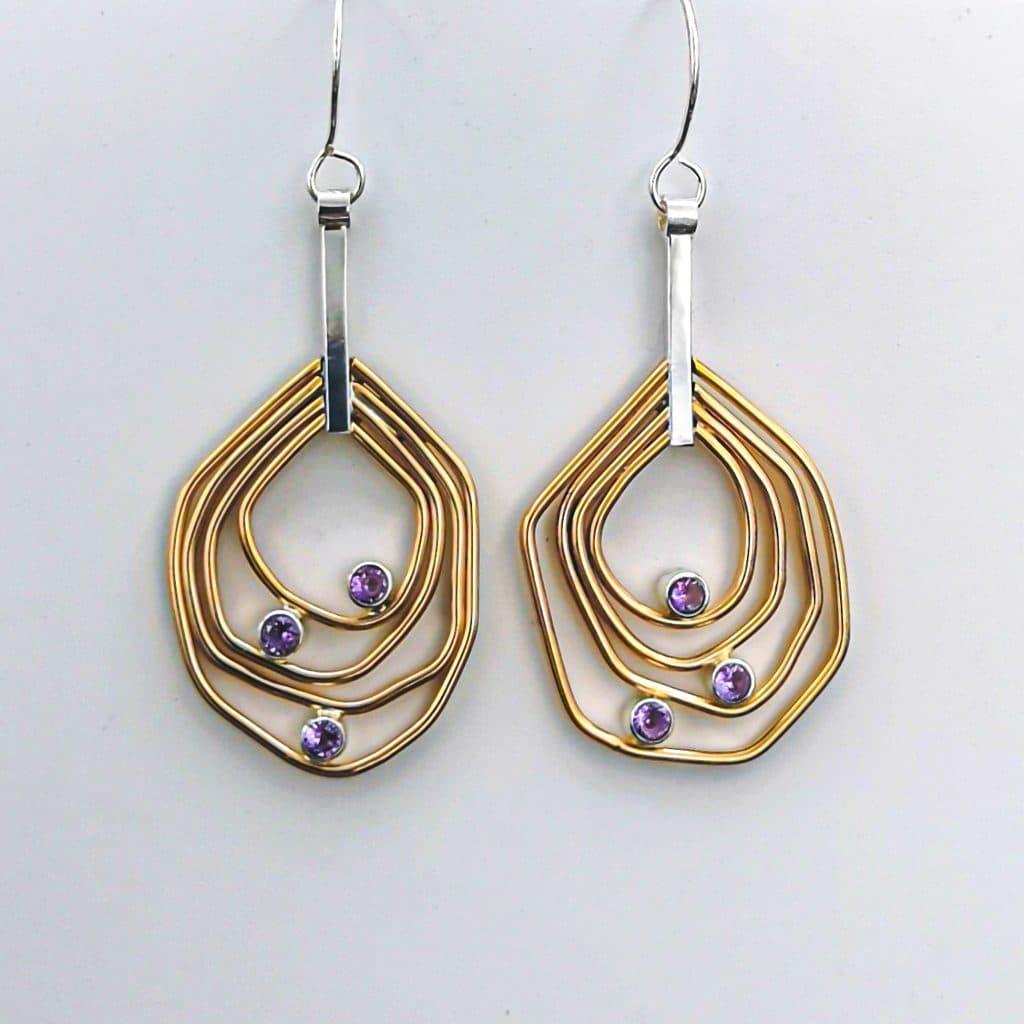 Juvelisto Schoo – Gold-filled Earrings class-